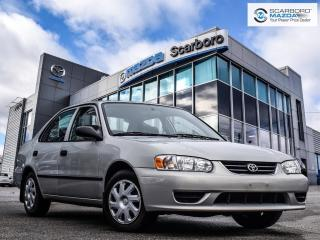 Used 2001 Toyota Corolla LOW LOW KM|NO ACCIDENT|LOOK LIKE NEW for sale in Scarborough, ON