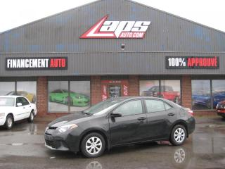 Used 2015 Toyota Corolla Berline 4 portes, CE for sale in Ste-Catherine, QC