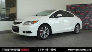 Used 2012 Honda Civic SI for sale in Trois-Rivières, QC