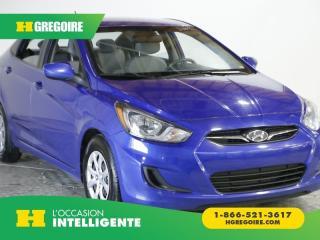 Used 2014 Hyundai Accent GL AC GR ELEC for sale in St-Léonard, QC