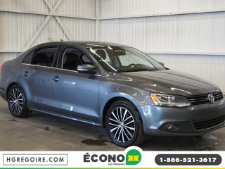 Used 2014 Volkswagen Jetta HIGHLINE CUIR-A/C for sale in St-Léonard, QC