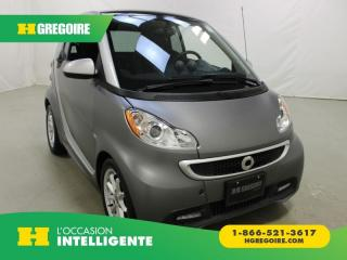 Used 2016 Smart fortwo ELECTRIC DRIVE A/C for sale in St-Léonard, QC