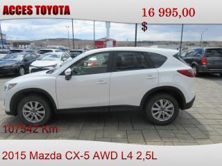 Used 2015 Mazda CX-5 GS for sale in Rouyn-Noranda, QC