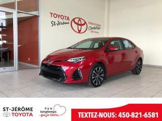 Used 2017 Toyota Corolla Xse Cuir Toit for sale in Mirabel, QC