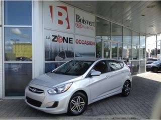 Used 2016 Hyundai Accent 2016 Hyundai Accent ÉCONOMIQUE AVEC SUPER LOOK !! for sale in Blainville, QC