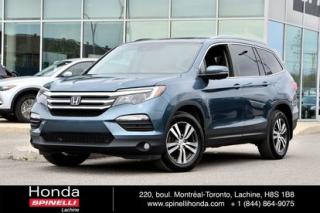 Used 2016 Honda Pilot Ex-L 8 Pass Cuir for sale in Lachine, QC