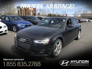 Used 2013 Audi A4 PREMIUM PLUS + GARANTIE + NAVI + TOIT + for sale in Drummondville, QC