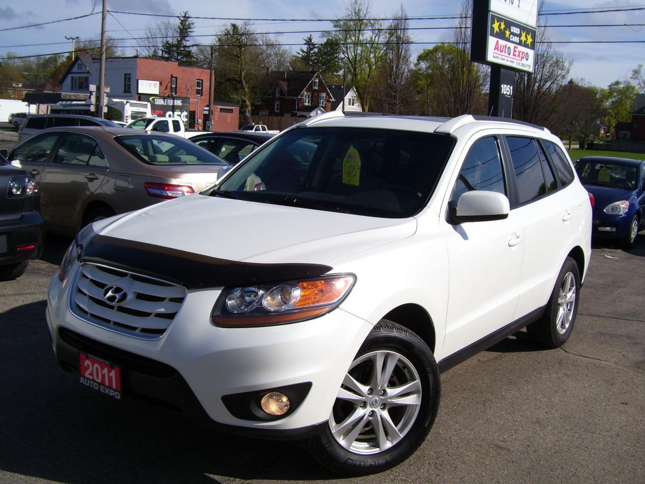 2011 Hyundai Santa Fe GL,ONE OWNER,NO ACCIDENT,SUNROOF,BLUETOOTH,TINTED