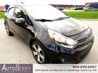 Used 2013 Kia Rio SX - 1.6L - FWD - B/Up Cam for sale in Woodbridge, ON
