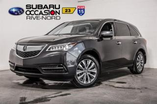 Used 2016 Acura MDX SH-AWD for sale in Boisbriand, QC