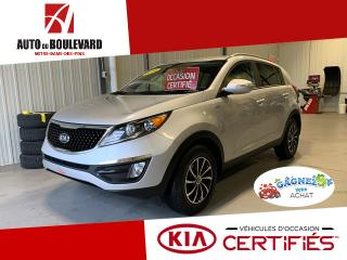 Used 2016 Kia Sportage LX AWD TOUT EQUIPE BEAU LOOK DEMARREUR for sale in Notre-Dame-des-Pins, QC