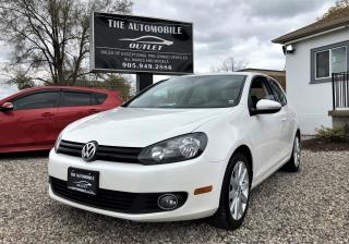 Used 2010 Volkswagen Golf HATCHBACK MANUAL SUNROOF for sale in Mississauga, ON