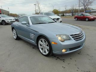 Used 2004 Chrysler Crossfire 2DR CPE LTD-PACKAGE for sale in Châteauguay, QC