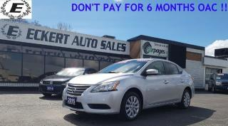 Used 2015 Nissan Sentra S WITH SPORT MODE for sale in Barrie, ON