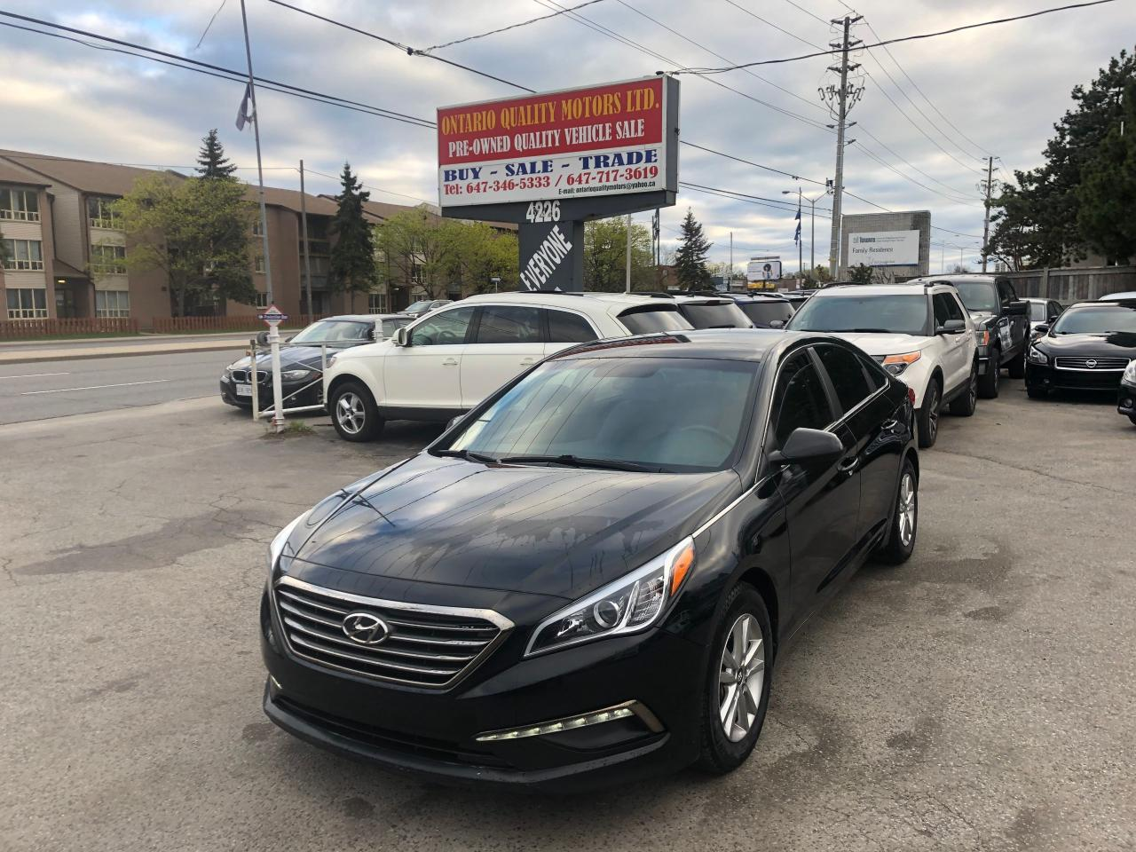 Ontario Quality Motors >> Used 2015 Hyundai Sonata 2 4l Sport For Sale In Toronto