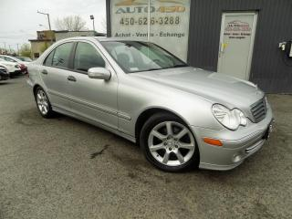 Used 2005 Mercedes-Benz C240 ***4X4,CUIR,TOIT,BLUETOOTH*** for sale in Longueuil, QC