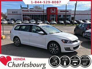 Used 2016 Volkswagen Golf Sportwagen 1.8 TSI HIGHLINE***CUIR+GPS+PANORAMIQUE* for sale in Charlesbourg, QC