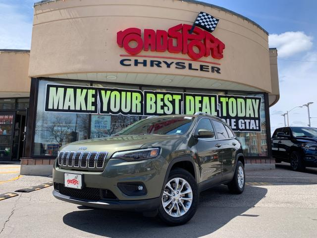 2019 Jeep Cherokee North 4X4+REMOTE START+POWERLIFTGATE