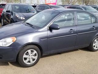 Used 2009 Hyundai Accent L; GREAT CONDITION, MANUAL TRANSMISSION, AIR CONDITIONING AND MORE for sale in Edmonton, AB