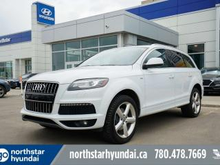 Used 2015 Audi Q7 VORSPRUNG 7PASS/NAV/LEATHER/SUNROOF for sale in Edmonton, AB