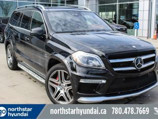 Used 2015 Mercedes-Benz GL-Class GL 63 AMG 7PASS/DVD/LEATHER/NAV/ROOF for sale in Edmonton, AB
