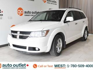 Used 2010 Dodge Journey RT, AWD, THIRD ROW SEATING, FRONT & REAR A/C, POWER WINDOWS & SEATS, LEATHER SEATS, A/FM RADIO, STEERING WHEEL CONTROL, CRUISE CONTROL for sale in Edmonton, AB