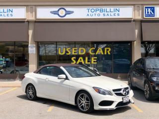 Used 2014 Mercedes-Benz E-Class E 550 AMG Sport pkg, Convertible for sale in Vaughan, ON