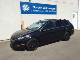 Used 2013 Volkswagen Golf Wagon Highline - TDI - NAV Package - Leather for sale in Edmonton, AB