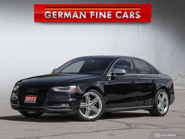 2013 Audi S4 *** 2013 AUDI S4 3.0T PREMIUM PLUS QUATTRO *** NAV