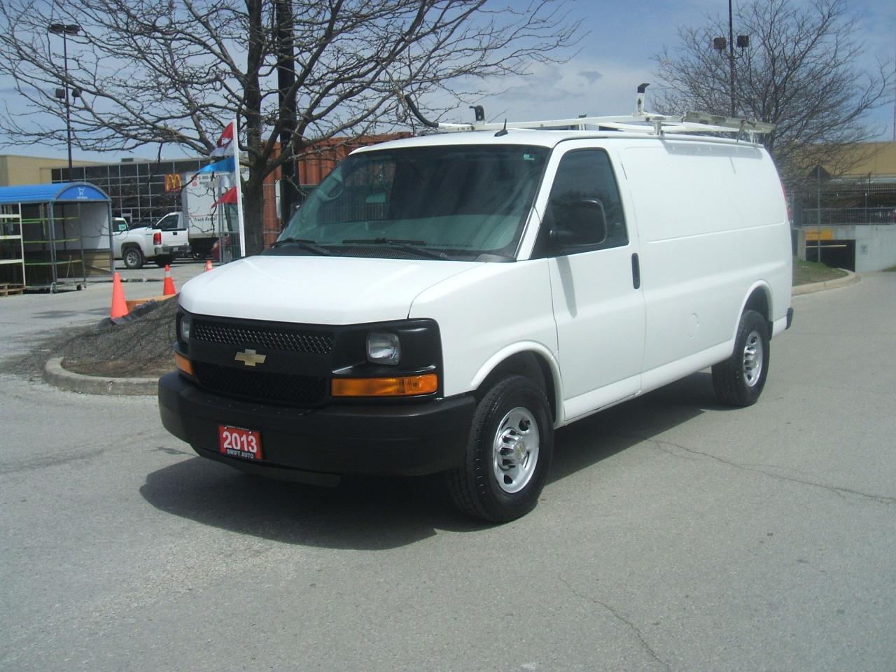2013 Chevrolet Express 3500 LADDER RACK / SLIDING DOOR