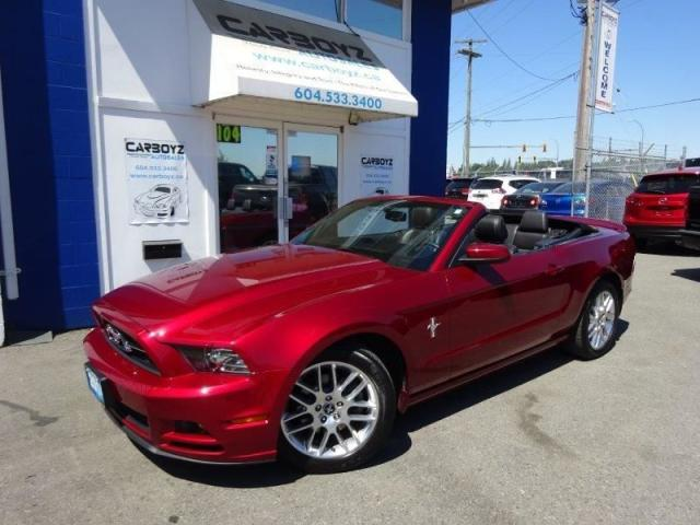 2014 Ford Mustang V6 Premium Convertible, Leather, Extra Clean!!