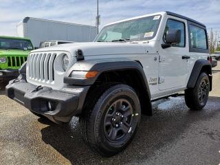 New 2019 Jeep Wrangler Sport / Back Up Camera for sale in Edmonton, AB