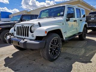 New 2018 Jeep Wrangler JK Unlimited Sahara for sale in Edmonton, AB