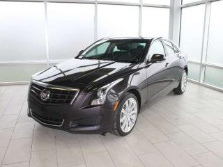 Used 2014 Cadillac ATS Luxury AWD for sale in Edmonton, AB