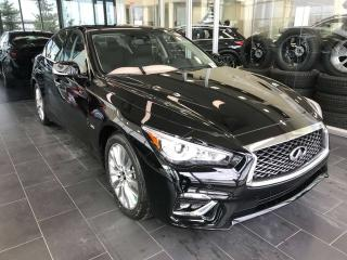 New 2019 Infiniti Q50 LUXE W/ ProActive Package for sale in Edmonton, AB