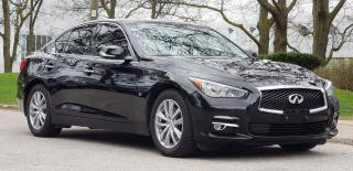 Used 2015 Infiniti Q50 AWD,Navi,Camera,Certified for sale in Mississauga, ON