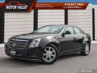 Used 2008 Cadillac CTS 3.6L No Accident Clean Car! for sale in Scarborough, ON