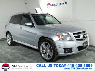 Used 2010 Mercedes-Benz GLK-Class GLK350 4Matic AWD Leather Alloys Heated Certified for sale in Toronto, ON