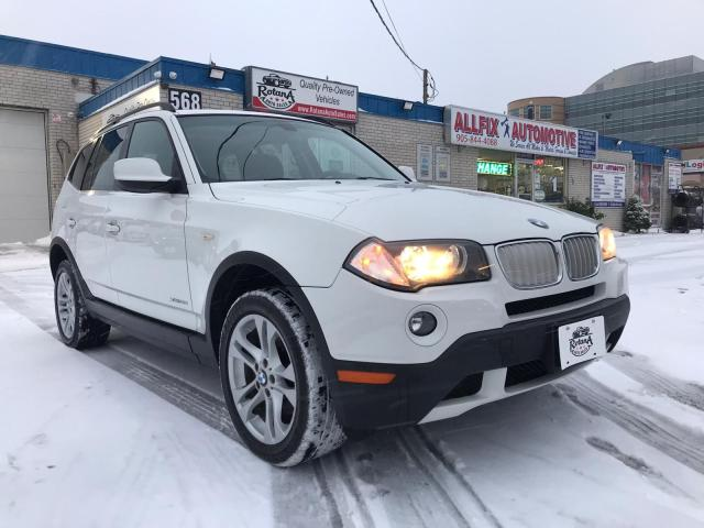 2010 BMW X3 LEATHER_PANORAMIC ROOF_BLUETOOTH_LOW KMs