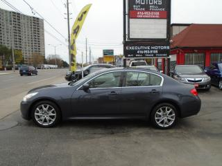 Used 2009 Infiniti G37 Sport / NAV / AWD / REV CAM / NEW BRAKES / SAFTIED for sale in Scarborough, ON