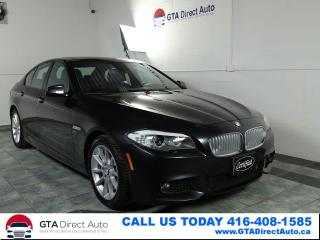 Used 2011 BMW 5 Series 550i xDrive M-SPORT ED AWD NAV HUD Sun Certified for sale in Toronto, ON