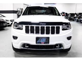 Used 2016 Jeep Grand Cherokee Overland  AWD   NAVIGATION for sale in Vaughan, ON