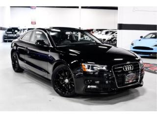 Used 2016 Audi A5 S-LINE   QUATTRO   WARRANTY for sale in Vaughan, ON