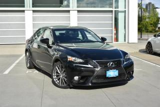 Used 2014 Lexus IS 250 AWD 6A for sale in Burnaby, BC