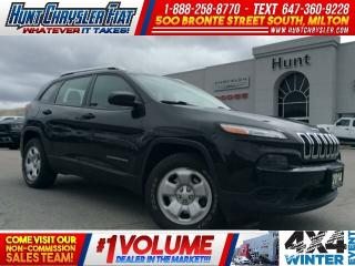 Used 2014 Jeep Cherokee SPORT | 4X4 | TOW | HTD STS & MORE!!! for sale in Milton, ON