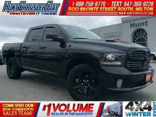 Used 2017 RAM 1500 SPORT | TONNEAU | BLACKOUT | 4X4 | CREW!!! for sale in Milton, ON