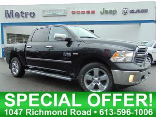 Used 2016 RAM 1500 BIG Horn - Hemi 4X4 for sale in Ottawa, ON