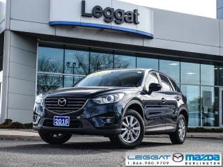 Used 2016 Mazda CX-5 GS- BLINDSPOT MONITORING, BLUETOOTH, MOONROOF for sale in Burlington, ON