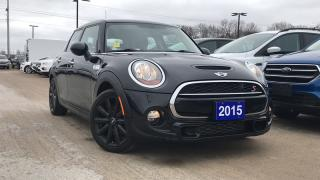 Used 2015 MINI Cooper Hardtop 5 Door S 2.0l Tt Leather Moon Roof for sale in Midland, ON