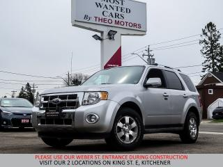 Used 2011 Ford Escape Limited 4WD | V6 | SUNROOF | YOU CERTIFY YOU SAVE for sale in Kitchener, ON
